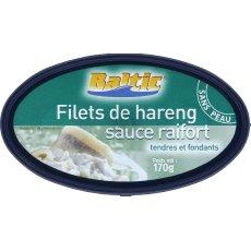 Filets de hareng sauce raifort 170gr