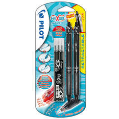 Stylo Roller Frixion ball noir x2