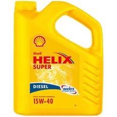 huile 15w40 pour moteurs diesel helix super shell 5l tous les produits automobile moto. Black Bedroom Furniture Sets. Home Design Ideas