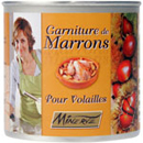 Minerve garniture de marrons 450g