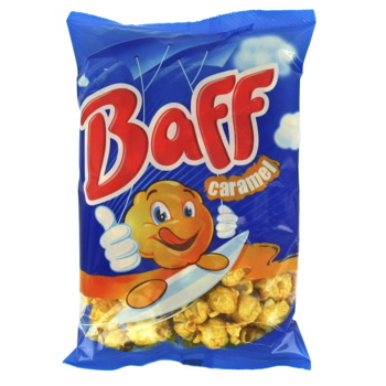 Pop Corn Baff caramel