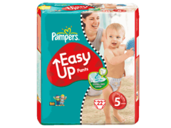Couches culottes easy up Taille 5 : 12-18kg