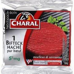 Steak hache 5% de MG CHARAL, 1x130g