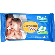 Lingettes Fresh Carrefour Baby