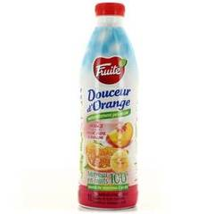 Fruite douceur d'orange peche banane pet 1l