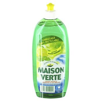maison verte liquide vaisselle 750ml tous les produits liquides vaisselle prixing. Black Bedroom Furniture Sets. Home Design Ideas