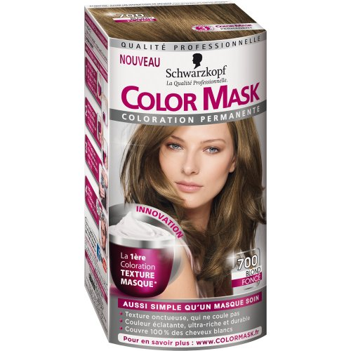 Coloration permanente COLOR MASK, blond fonce n°700
