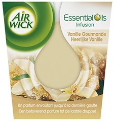 Air Wick Bougie Essential Huile Vanille - Lot de 3