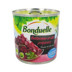 Betteraves rouges tendres BONDUELLE, 265g