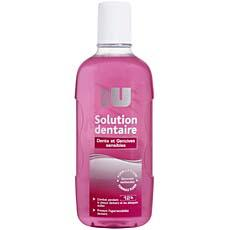 Solution dentaire dents et gencives sensibles By U, 500ml