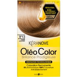 Keranove oleo color 9*13 blond clair cendre