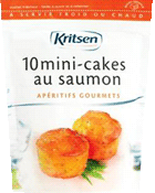 Mini cakes au saumon
