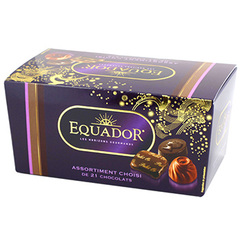 Assortiment Equador Chocolats fins 220g