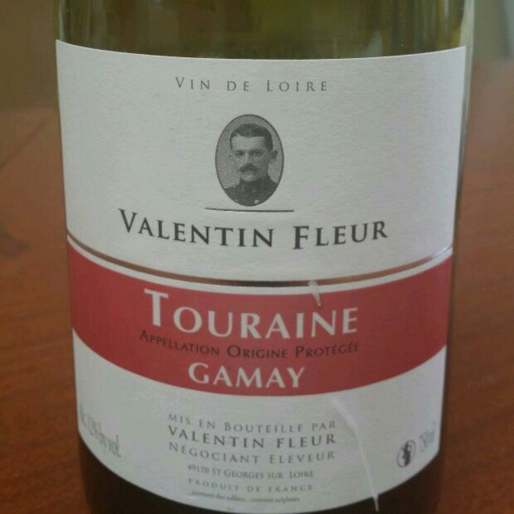 Touraine Gamay AOP, rouge