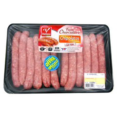 Chipolatas facon charcutiere SOCOPA, 6 pieces, 330g