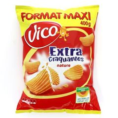 Chips craquantes Vico Salees extra 400g
