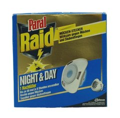Raid Night & Day plug insectes Recharge