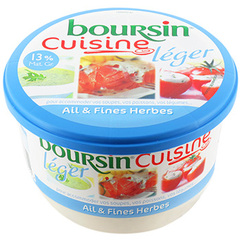 Boursin cuisine light ail & fines herbes 245g