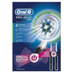 Oral B elec Pro 4900 Crossaction Brosse à Dents Electrique Rechargeable Pack Bonus