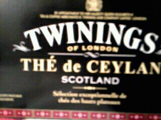 The ceylan Twinings scotland 20 sachets 40g