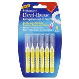 Denti-brush Lot de 2 paquets de 6 brosses pour interstices dentaires 0,7 mm