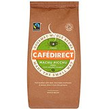 Cafédirect Fairtrade Machu Picchu Whole Bean Coffee 227g (Pack of 2)