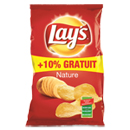 Lay's Chips nature le paquet de 300 g