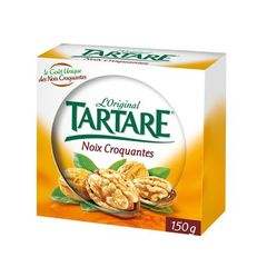 Specialite fromagere pasteurisee aux noix TARTARE, 33,5%MG, 150g