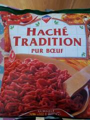 Haché tradition pur bœuf 800g