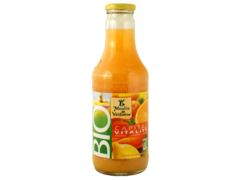 Moulin de valdonne pur jus bio orange citron carotte 75cl