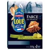 Farce vollaille de loue raisin fine champagne