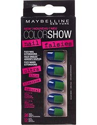 Gemey Maybelline Color Show Faux Ongles Adhésifs 08 Side Squared