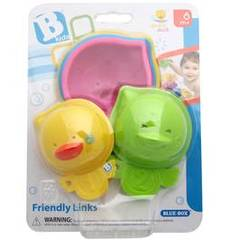 Set de 5 coupelles de bain