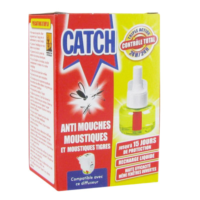 Recharge liquide anti mouches moustiques et moustiques for Anti mouches maison
