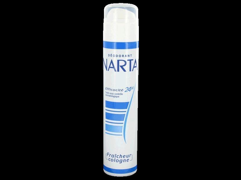 narta deodorant cologne 200ml tous les produits d odorants femme prixing. Black Bedroom Furniture Sets. Home Design Ideas