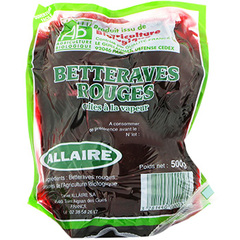Betteraves rondes bio sous vide, 500g
