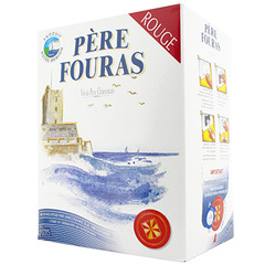 Vin rouge Pere Fouras Bag in box 5l