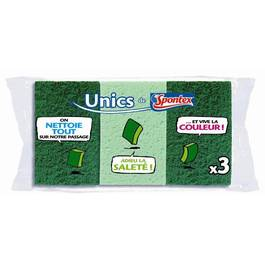Eponges combines Unics