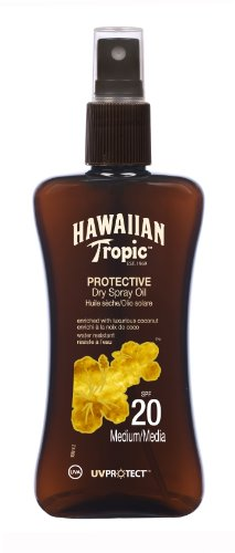 Hawaiian Tropic - Y00557C0 - Spray Huile Solaire Protectrice SPF20