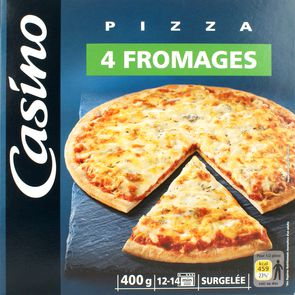 Pizza 4 fromages 400g