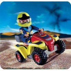 Playmobil city action collector pilote quad 4425 4-10ans