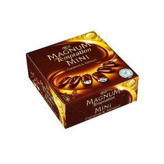 Glace mini Magnum Temptation Chocolat caramel x6 300ml