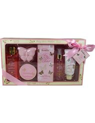Gloss! Pack de 6 Coffret de Bain Bloomfield Enchantment Pivoine et Patchouli Rose