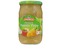 Compote Andros pomme poire 750g