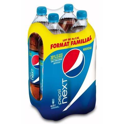 Pepsi Next pet 4x1,5 litre