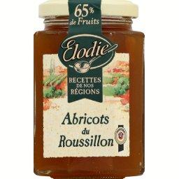 Recettes de nos regions, preparation de fruits, abricots du Roussillon, le pot, 315g
