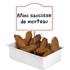 Mini saucisse de Morteau s/at x 12, Le sachet 140G