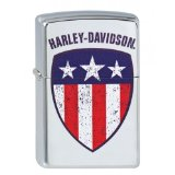 Harley-Davidson Stars & Stripes Shield High Poli