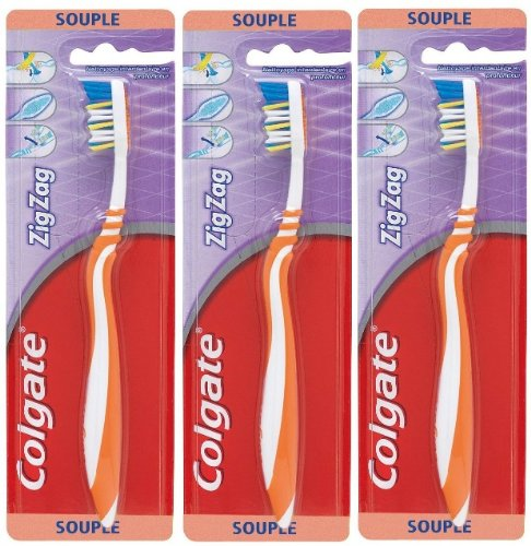 Brosse a dents Zig Zag flexible - Souple