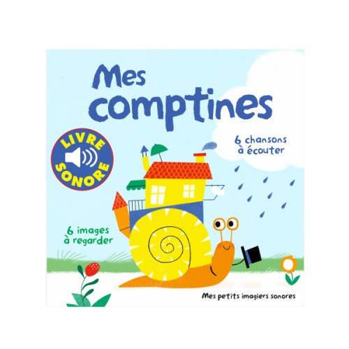 Imagier sonore- Mes comptines
